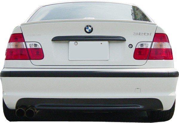 Bumper Bmw E46 M Look Rear