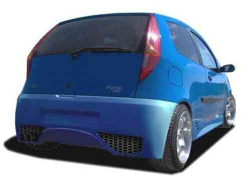PARAGOLPES FIAT PUNTO 2000/2 GHOST 3/D TRASERO