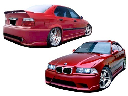 kit carrosserie bmw e36 poison ebay. Black Bedroom Furniture Sets. Home Design Ideas