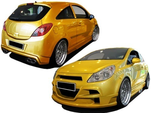body kit opel corsa d king