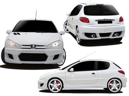body kit peugeot 206 drift