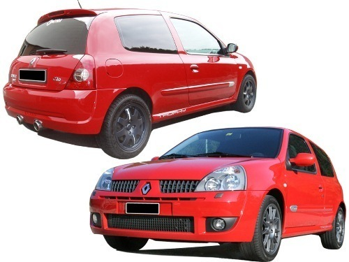 BODY KIT RENAULT CLIO 02 RS WIDE