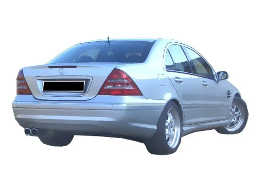 PARAGOLPES TRASERO MERCEDES CLASSE C W203 AMG