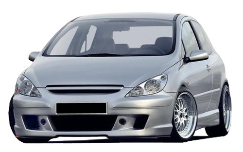front bumper peugeot 307 sport. Black Bedroom Furniture Sets. Home Design Ideas