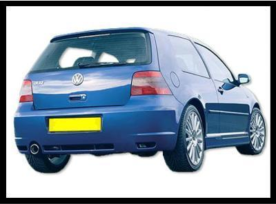 REAR BUMPER GOLF IV R32 1EXIT ABS