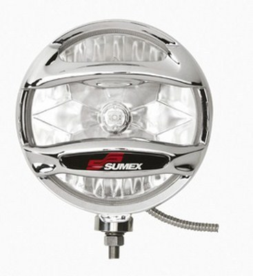 "JUEGO FAROS ""ULTRA-POWER 4X4""L/A 203 MM INOX.CROM."