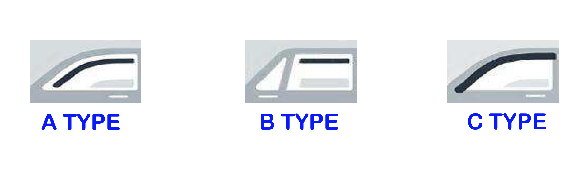 WIND DEFLECTOR A3 2004 > 3 DOOR TYPE