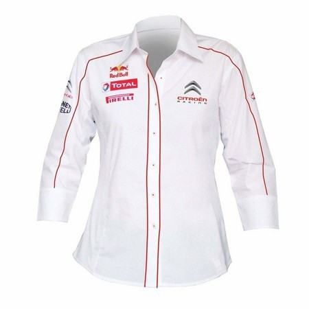 CHEMISE CITROEN RACING CHEMISE MUJER