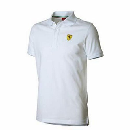 POLO FERRARI MENS CLASSIC POLO SHIRT