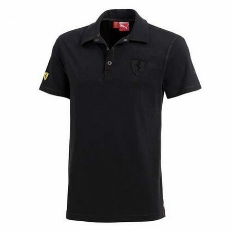 POLO FERRARI POLO BLACK M