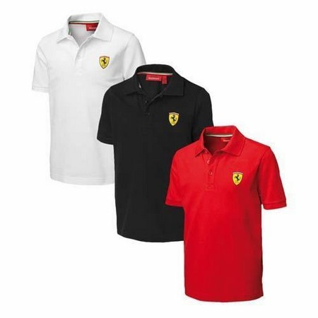 POLO FERRARI KIDS POLO SHIRT