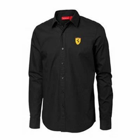 CAMISA FERRARI MENS LONG SLEEVE SHIRT