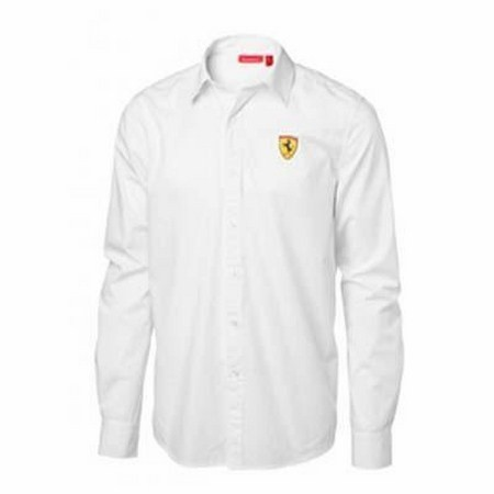 CHEMISE FERRARI MENS LONG SLEEVE SHIRT