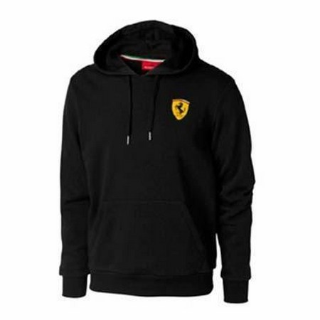 SWEATSHIRT FERRARI MENS HOODED SWEATSHIRT