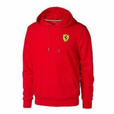 TOLSTOVKA FERRARI MENS HOODED SWEATSHIRT