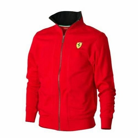 JACKE FERRARI MENS ZIPPER SWEATSHIRT