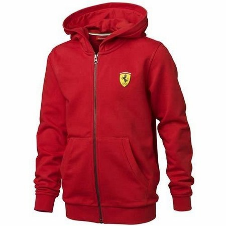 CHAQUETA FERRARI KIDS HOODED JACKET