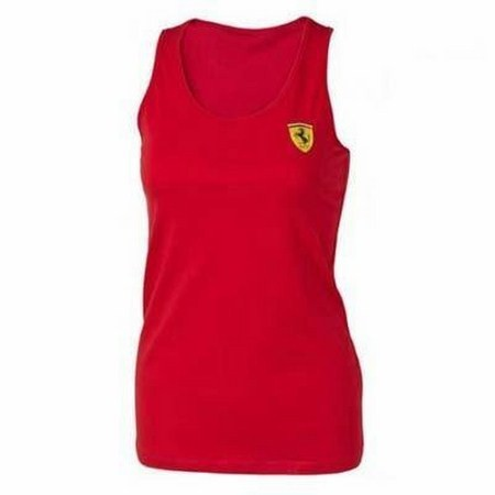CAMISETA FERRARI WOMENS RACER BACK TOP
