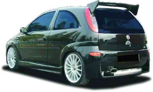WHEELARCHES EXTENSIONS CORSA C EVO RS