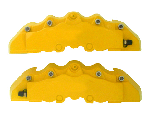 CALIPERS COVER KIT. (2 UDS) YELLOW